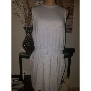Lou & Grey Drawstring Dress sz M